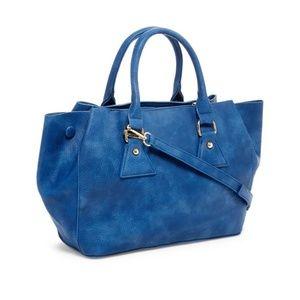 NWT Pink Haley Blue Large Rhiannon Tote Bag
